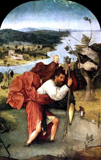 «Иероним Босх. Картина «Святой Христофор».
