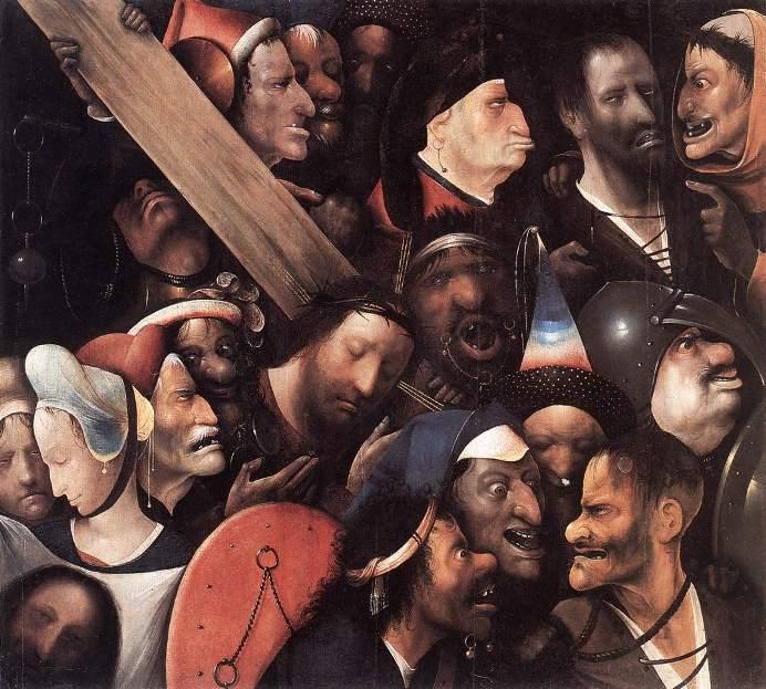 Иероним Босх. Картина «Несение креста» Гент
