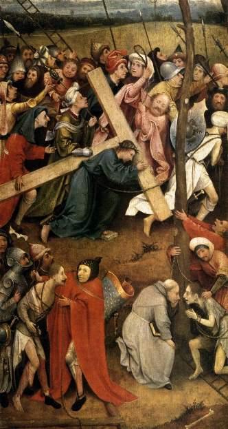 Картина «Несение креста» (Вена). Иероним Босх.