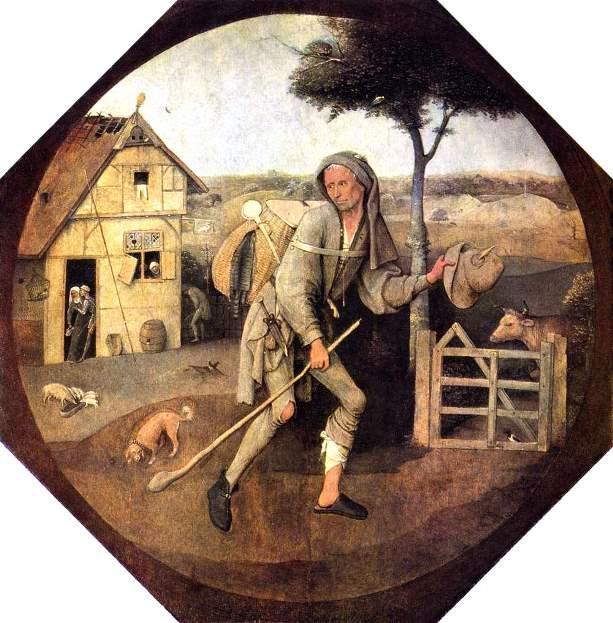 Картина «Блудный сын».  («Странник», «Путник», «Пилигрим»). Иероним Босх.