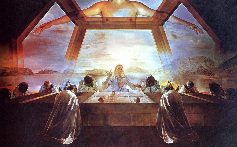 Сальвадор Дали. Картина «Тайная вечеря».
