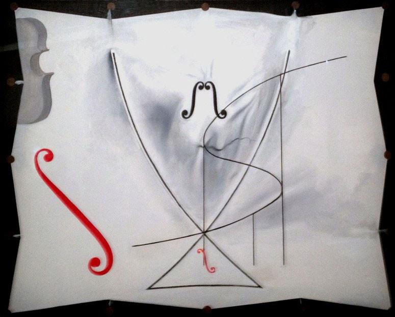 Сальвадор Дали. Последняя картина Сальвадора Дали «Ласточкин хвост».
