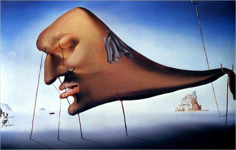 Сальвадор Дали. Картина «Сон».