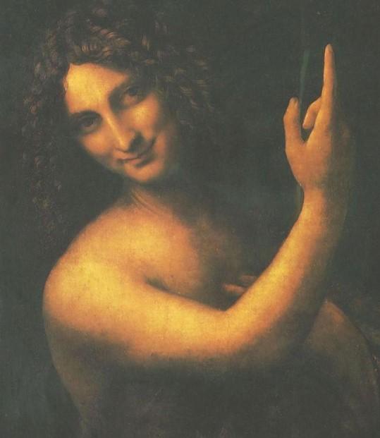 Иоанн Креститель» 1516 год. Картина Леонардо да Винчи.