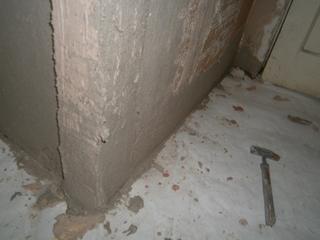 Фото. Штукатурка деревянных элементов стен. Статья о ремонте своими руками.
