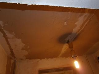 Фото. Выравнивание стен и потолка по плоскости. Статья о ремонте в квартире своими руками.