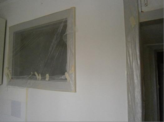 Фото. Покраска стен и потолков своими руками. Подготовка помещения к покраске.