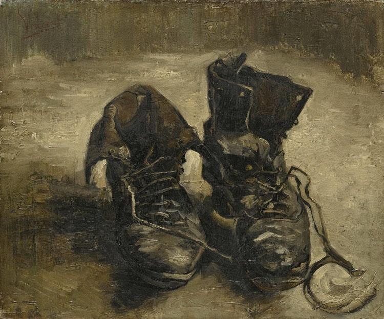 Пара ботинок, 1886 год. Картина Винсента Ван Гога.