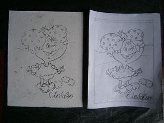 Фото. Картинка. Рисунки на бумаге. Как перенести рисунок с бумаги на дерево, двп или другую поверхность.