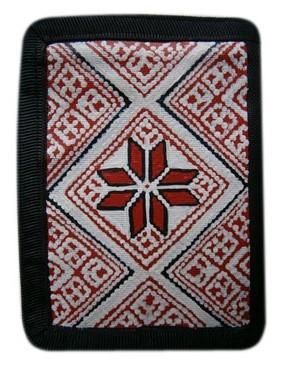 Сувениры. Украина. Картинка. Фото. Сувенирный кошелек с украинским орнаментом. Предлагаем купить украинские сувениры.