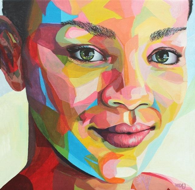 Картина девушки, которую нарисовал шведский художник Ниссе Найдеж Оттенхаг.
