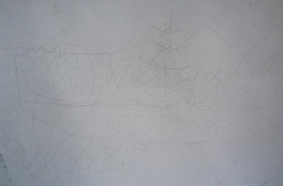 Фото. Картинка. Рисунки. Как нарисовать пейзаж карандашом. Поэтапно. Для начинающих. Картина. Лес. Сосны. Солнце.
