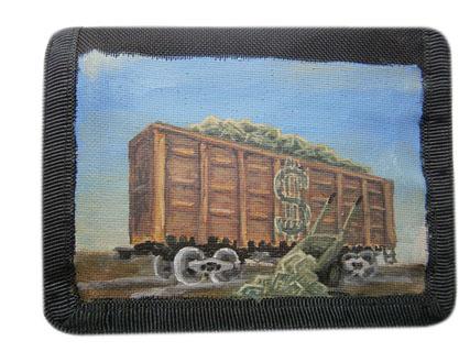 Если Вы приобретете этот кошелек – то денег у вас будет вагон и маленькая тележка. )))