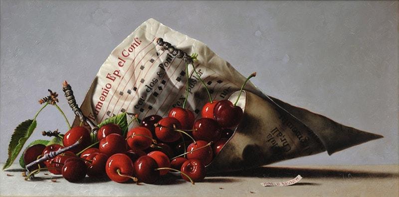 На фото картина известного современного итальянского художника Аурелио Бруни.