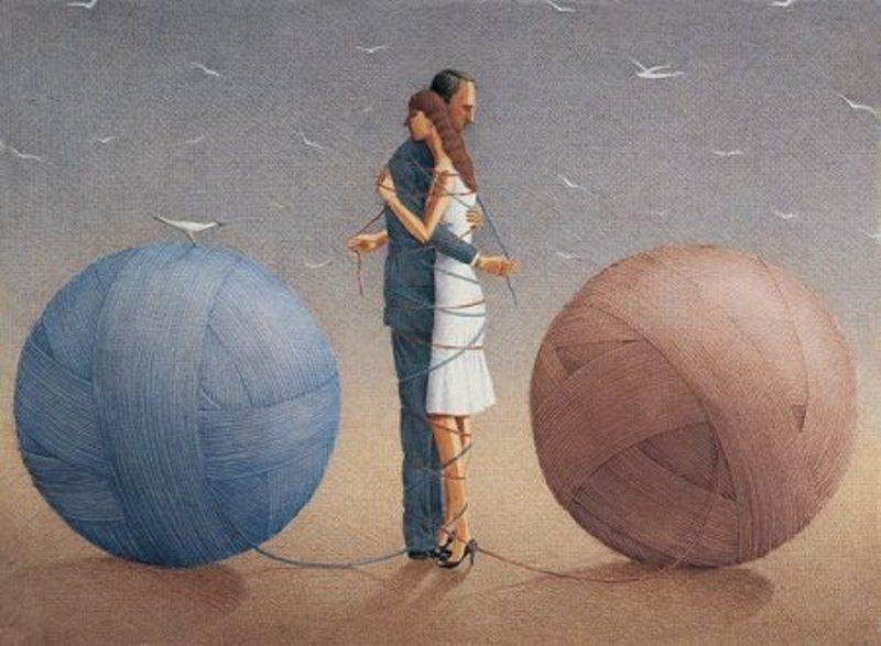 Картина знаменитого современного турецкого художника Гюрбюза Догана Экшиоглу.