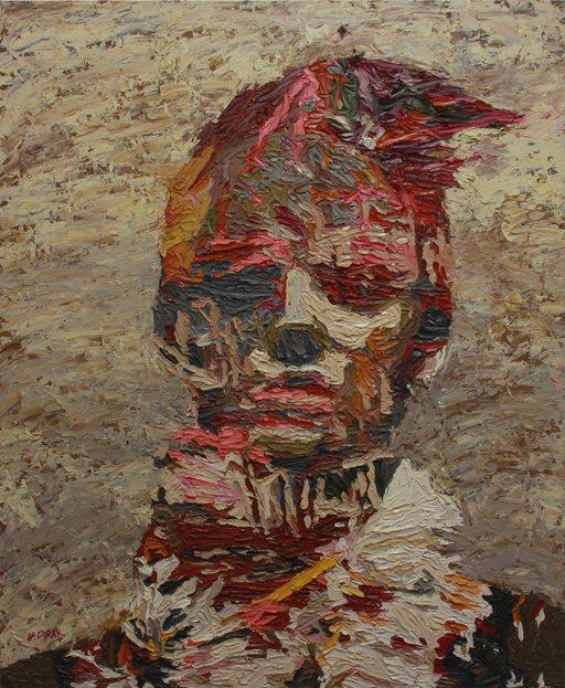 Картина известного современного египетского художника Хоссама Дирара.