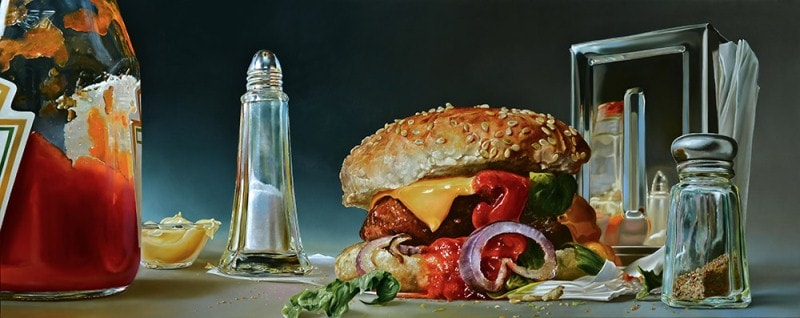 На фото картина знаменитого современного нидерландского художника Tjalf Sparnaay.