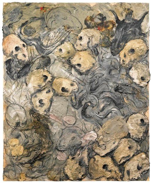 Картина знаменитого современного испанского художника Мигеля Барсело.