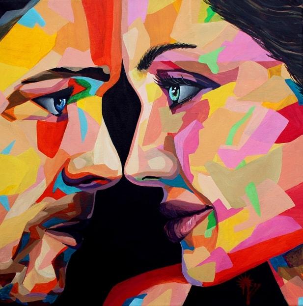 Картину нарисовал знаменитый современный шведский художник Ниссе Найдеж Оттенхаг.