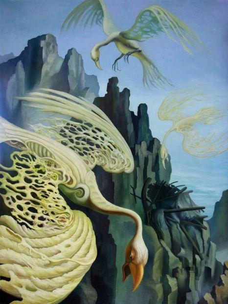 На фото картина известной современной австралийской художницы Элизабет Баршам.