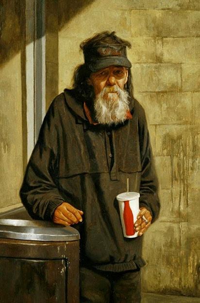 На фото картина знаменитого современного американского художника Уоррена Чанга.