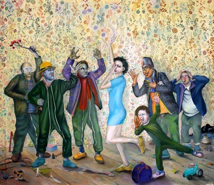 На фото картина известного современного французского художника Мартиала Райса.