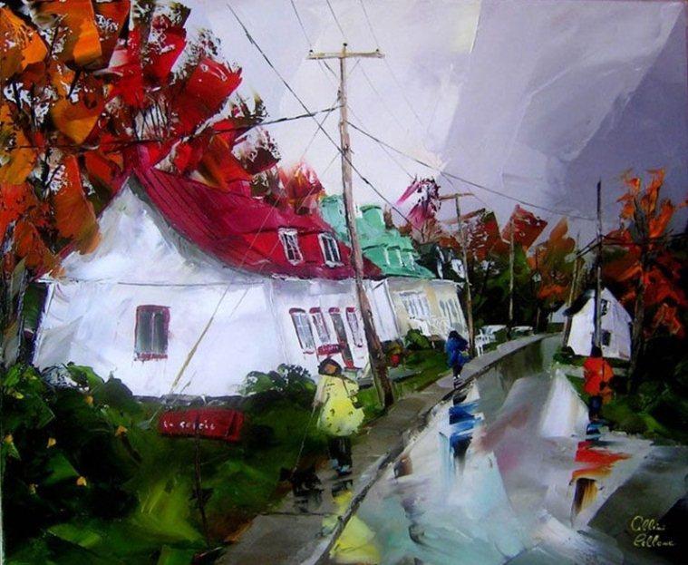 Картина знаменитого современного канадского художника Альбини Леблана.