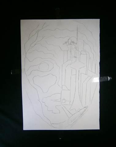 Как перенести рисунок с бумаги на ткань, холст, салфетку, канву и т.д. Закажи художественную роспись.