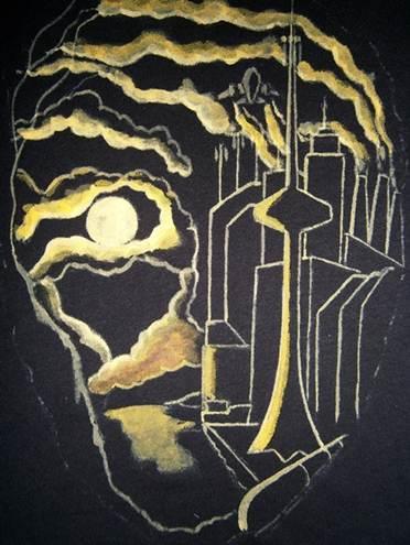 Ручная свободная роспись по ткани. Фото, картинки. Урок росписи ткани. мк роспись по ткани футболки.