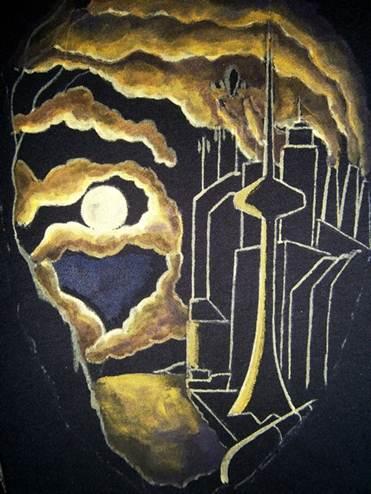 Роспись по ткани акриловыми красками, кисточкой. Мастер класс для начинающих от художника творческой мастерской Огонь.