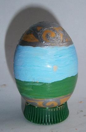 Пасхальное яйцо акриловыми красками. Как красить пасхальные яйца. Мастер класс по изготовлению пасхальных яиц.