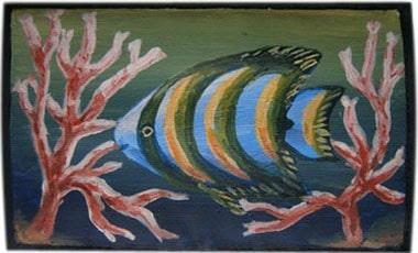 Рыбка чехол для телефона ручной работы.