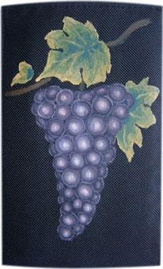 Виноград чехол для телефона ручной работы.