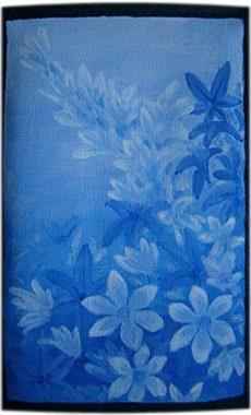 Цветы чехол для телефона ручной работы.