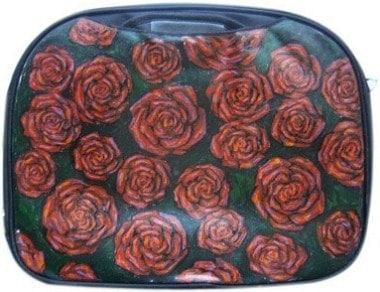 Розы сумка для ноутбука, с рисунком.