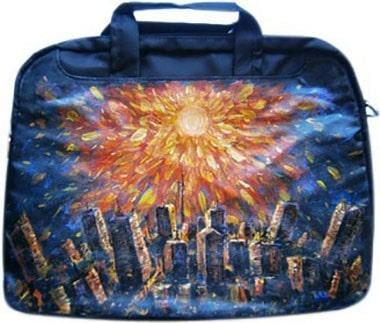 Солнечный ветер сумка для ноутбука, с рисунком.