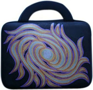 Галактика сумка для мини ноутбука, планшета, с рисунком.