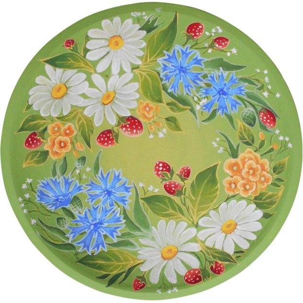 Роспись декоративных тарелок на заказ. Киев, Украина.