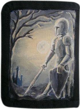 Рыцарь кошелек ручной работы.