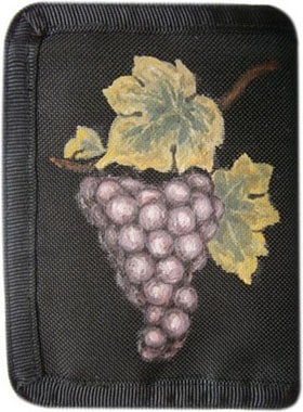 Виноград кошелек ручной работы.