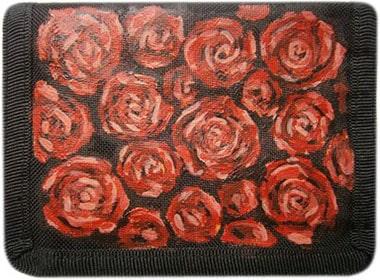 Розы кошелек ручной работы.