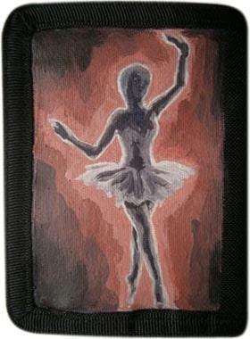 Балерина кошелек ручной работы.