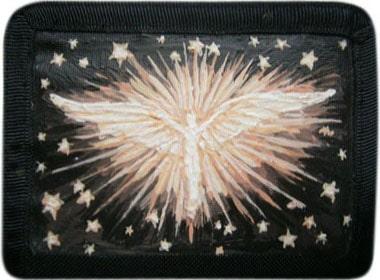 Ангел кошелек ручной работы.