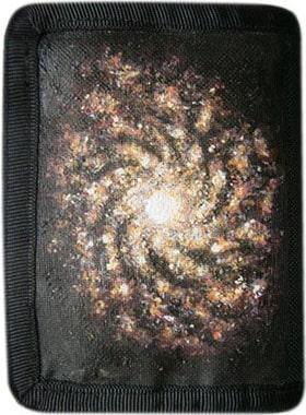 Галактика кошелек ручной работы.