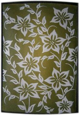 Цветочный узор чехол для планшета с художественной росписью.