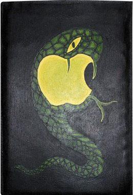 Apple чехол для планшета с художественной росписью.