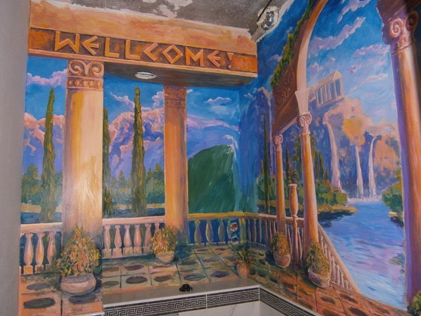 Художественные стены. Темы для росписи стен.
