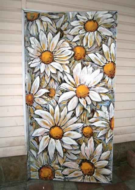 Декор помещений цветами. Фото.