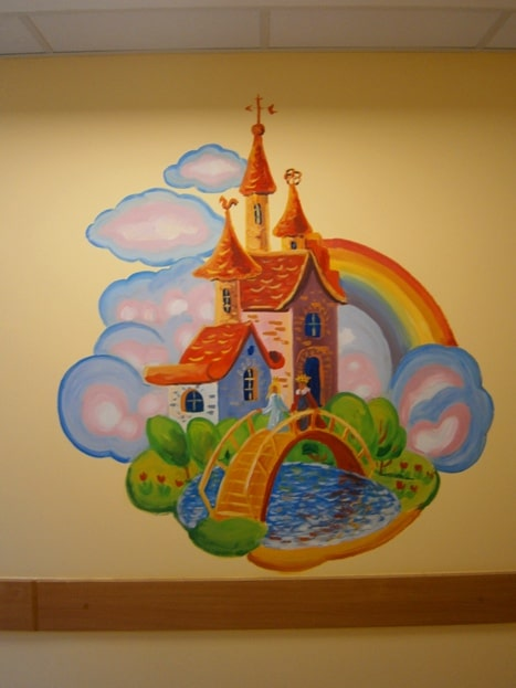 Декор детской комнаты. Фото.