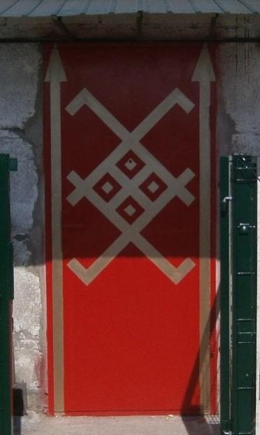 Декор Символы. Оригинальный вид декора.